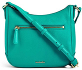 Vera Bradley Turquoise Leather Crossbody