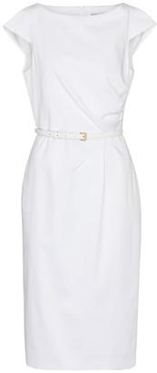 Max Mara Zic stretch-cotton midi dress