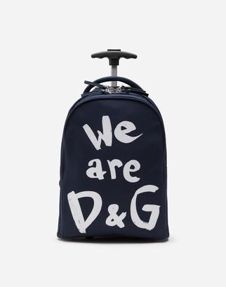 Dolce & Gabbana We Are Nylon Cordura Trolley
