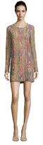 Balmain Beaded Crewneck Dress