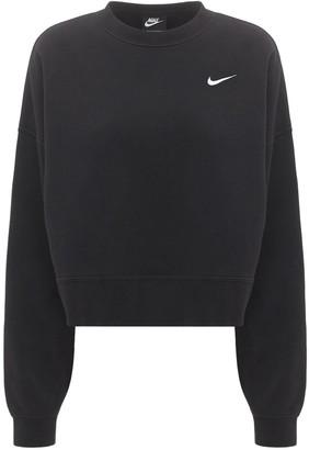 Nike Cotton Blend Fleece Crewneck Sweatshirt