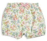 Ralph Lauren Babys Floral Bloomer Shorts