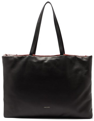 Mansur Gavriel Pillow Reversible Padded Leather Tote Bag - Black Multi