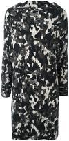 Norma Kamali camouflage print dress