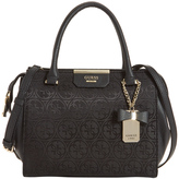 GUESS JQ668306BLA Ryann Double Handle Satchel