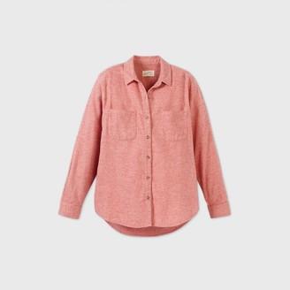 Universal Thread Women's Long Sleeve Button-Down Flannel Shirt - Universal ThreadTM