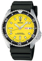Seiko Diver Stainless Steel and Polyurethane Watch