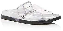 Schutz Women's Trina Criss-Cross Slide Sandals