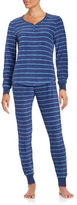 Roudelain Patterned Fleece Pajama Set