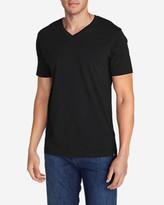 Eddie Bauer Men's Legend Wash Short-Sleeve V-Neck T-Shirt - Classic Fit
