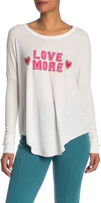 Wildfox Couture Love More Perry Thermal Pullover