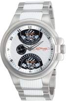 Ed Hardy Ed Hardy's Men's Speeder Silver watch #SP-SSP