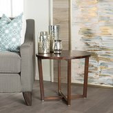 christopher knight home tansy round acacia wood end table