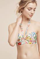 Anthropologie Halter Bandeau Swim Bikini Top