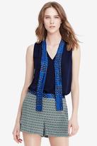 Diane von Furstenberg Britni Sleeveless Tie Top