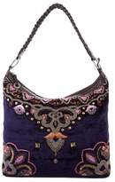Matthew Williamson Velvet Embellished Bag