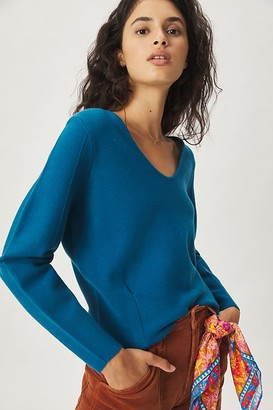 Maeve Lupita V-Neck Sweater