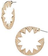 Anna & Ava Mavis Starburst Hoop Earrings