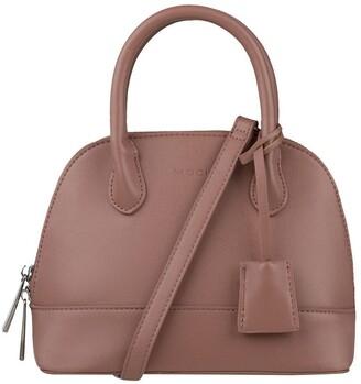 Mocha Cecilia Top-Handle Crossbody Bag - Light Mauve