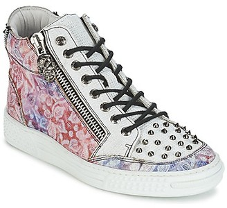 New Rock BOMESTA women's Shoes (High-top Trainers) in Multicolour
