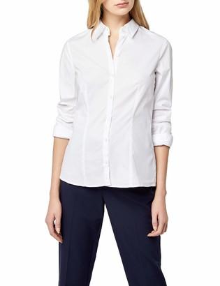 Seidensticker Women's Long - regular Blouse - White - Wei (01) - 22 (Brand size: 48)
