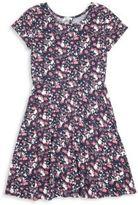Splendid Girl's Printed Dress