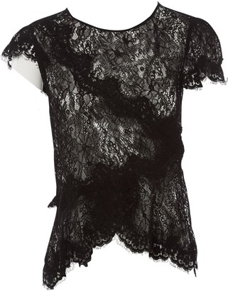 Isabel Marant \N Black Lace Tops