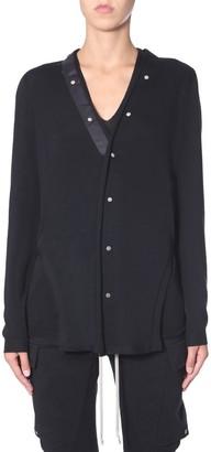 Rick Owens Button-Up Side Slits Cardigan
