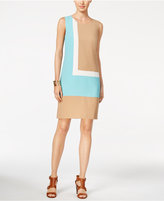 Tommy Hilfiger Colorblocked Shift Dress