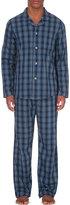 Derek Rose Checked Cotton Pyjama Set