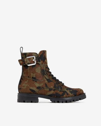 Express Dolce Vita Camo Paxtyn Boots