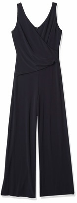 Nine West Women's Sleeveless Surplus Jumpsuit