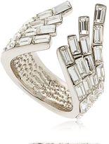 Giuseppe Zanotti Design Wrap Around Crystal Cuff Ring