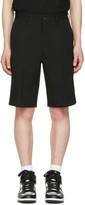 Comme des Garcons Black Gabardine Shorts