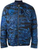 Diesel 'W-Camu' bomber jacket