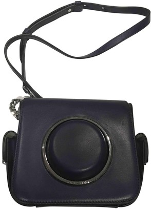 Michael Kors Purple Leather Handbags