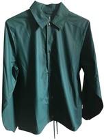 Rains Green Polyester Coats