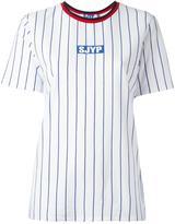 SteveJ & YoniP Steve J & Yoni P striped T-shirt