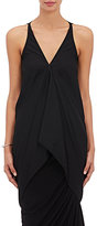 Rick Owens Women's Tech-Fabric Draped Tank Top