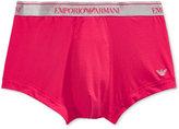 Emporio Armani Men's Shiny Logo Trunk
