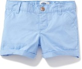 Old Navy Cuffed Twill Pull-On Shorts for Toddler
