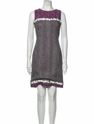 Chanel Vintage Mini Dress Purple