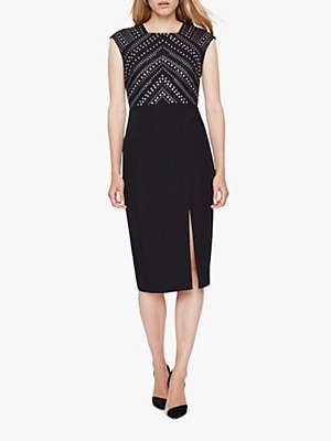 Damsel in a Dress Talin Stud Detail Dress, Black