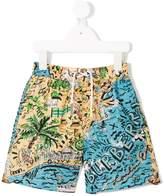 Burberry Seaside Print Swim Shorts