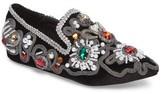 Jeffrey Campbell Women's Horatio Embellished Loafer