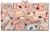 Charlotte Olympia Pandora map print clutch - women - Plastic - One Size