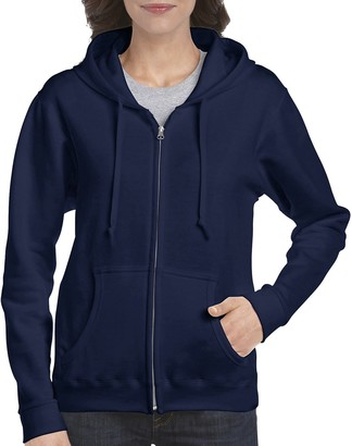Gildan Women's Full Zip Hooded Sweatshirt
