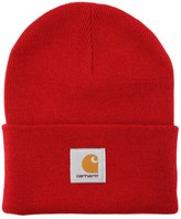Carhartt Knit Beanie Hat With Logo Patch