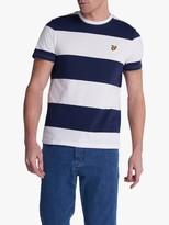 Lyle & Scott Stripe Crew Neck T-Shirt