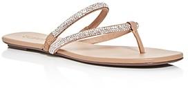 Schutz Women's Marileide Slip On Thong Sandals